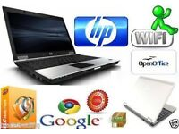 HP Compaq 6930p Intel Core 2 Duo 2GB RAM 160GB HDD OFFICE Window 7 Laptop