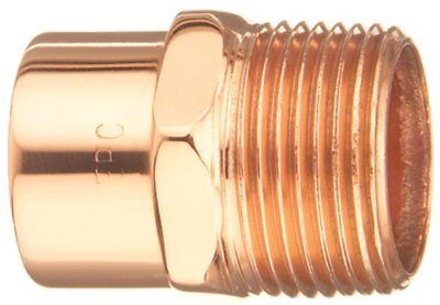 Elkhart Products 104 1 1-inch Copper Male Adapters