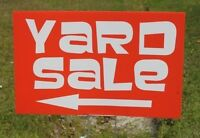 YARD SALE SATURDAY AUG 29TH