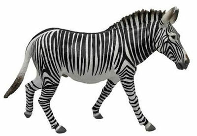GREVY'S ZEBRA ANIMAL MODEL by COLLECTA 88773 *New with tag - Free UK postage*
