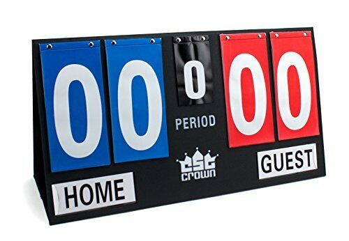 Deluxe Portable Tabletop Large Game Scoreboard