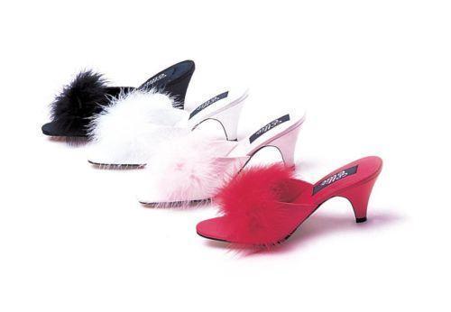 Marabou Slippers Ebay