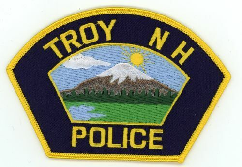 TROY POLICE NEW HAMPSHIRE NH COLORFUL PATCH SHERIFF