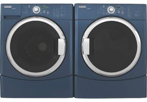Maytag Epic Arctic Blue Front Load Washer & Dryer - brand new