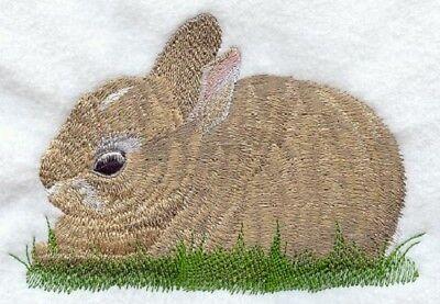 Embroidered Fleece Jacket - Cottontail Rabbit M1739 Sizes S - XXL