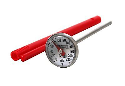 Taylor 3512 Precision Instant Read 1-Inch Dial Thermometer