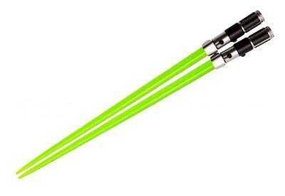 Star Wars Lightsaber Chopsticks Green Yoda Chop Sticks New Japan