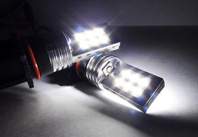 2x SAMSUNG 12 SMD LED P13W PSX26W For 08-14 AUDI Q5 Corner Light 24W White Bulb