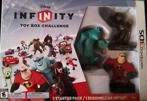 DISNEY INFINITY TOY BOX CHALLENGE STARTER PACK - NINTENDO 3DS