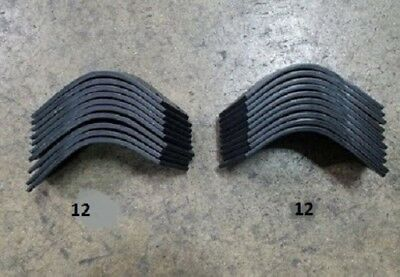 12 Each LH & RH Tiller Tines for Befco T30 Series Tiller 003-0104S & 003-104D