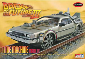 Back to the Future III Final Act Time Machine 1:25