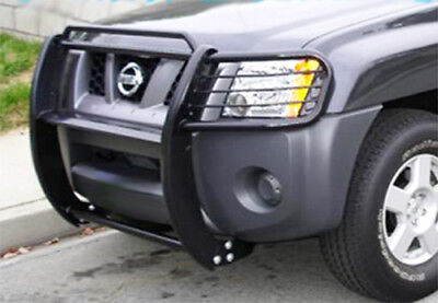 GRILL GUARD / BRUSH GUARD BLACK fits 09-18 FRONTIER - XTERRA / 08-12 PATHFINDER