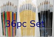 Artist Paint Brush Set