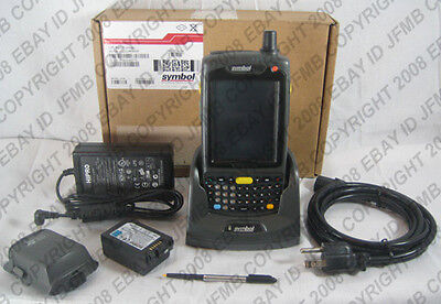 Symbol Motorola MC70 PDA Wireless Barcode Scanner 2D Imager GSM MC7094 ATT Cell ()