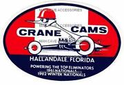 Crane Cams Decal