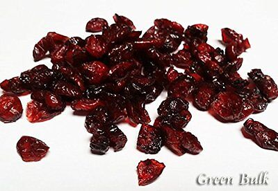 Dried Cranberries, 5 lb bag-Green Bulk