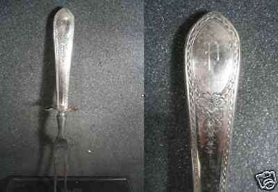 11 Carving Fork (Sterling Vintage CARVING FORK  11