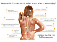 Deep tissue massage, Swedish massage, Reflexology