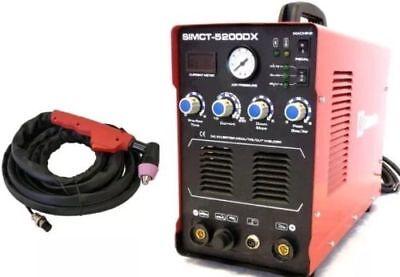 Plasma Cutter 50a Simadre 110220v 5200dx 200a Tig Arc Mma Welder Rate 60a Torch