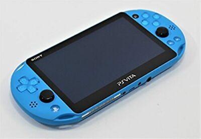 PS Vita aquablue PCH 2000 ZA23 Console onry USED Sony PlayStation tracking