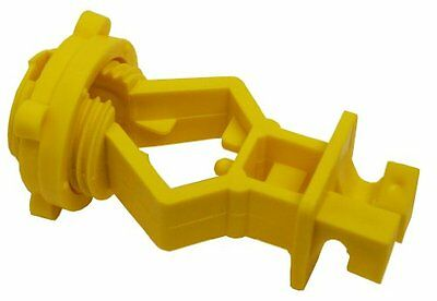 Zareba ITSOY-Z Screw-on T-Post Insulator, Yellow