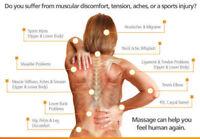 Massage thérapeutique et détente 55$/h