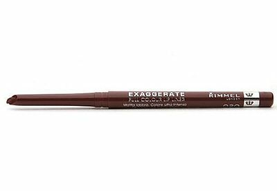 Rimmel London Exaggerate Full Colour Lip Liner ~ Choose from