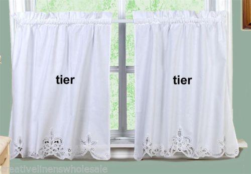24 Quot Tier Curtains Ebay