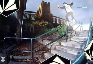VOLCOM 2003 Dustin Dollin skateboard poster New Old Stock Flawless Condition