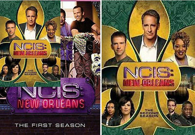 Ncis  New Orleans The Complete Series Seasons 1 2   Dvd  New