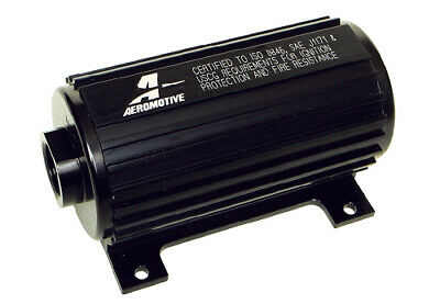 Hard Coat Anodize (Aeromotive 11108 A1000 Electric Fuel Pump Marine Certified Hard Coat Anodize)