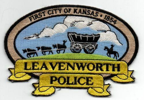 KANSAS KS LEAVENWORTH POLICE NICE PATCH SHERIFF