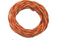 Cordón Servo Pvc 3-hilos Par Trenzado 5m Jr/graupner Hecho En Alemania 0,25mm² -  - ebay.es