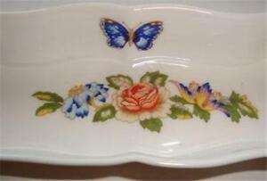Aynsley and Sons Cottage Garden Mint Tray