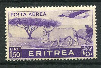 Eritrea 1936 Sass. 22 MNH 80% Airmail 1, 5 l., Italian colony