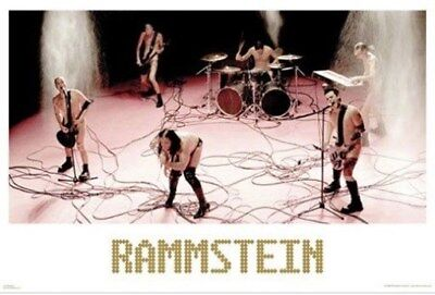 RAMMSTEIN POSTER ~ NAKED ON STAGE 2006 ~ 24x36 Music Poster ~ NEW/ROLLED