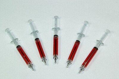 2x Spritzenkugelschreiber Kugelschreiber Doktorkugelschreiber