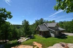 Georgian Bay acreage, newer house, cottage businesss