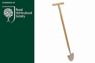 Burgon and Ball RHS Stainless Steel Half Moon Lawn Edger Garden Tool
