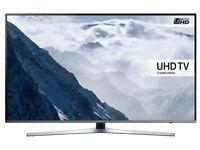 "SAMSUNG Smart 4k Ultra HD HDR 55"" LED TV"