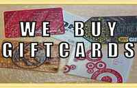 BUYING UNWANTED GIFT CARDS/CERTIFICATES
