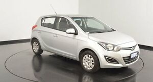 2015 Hyundai i20 PB MY15 Active Silver 4 Speed Automatic Hatchback Welshpool Canning Area Preview