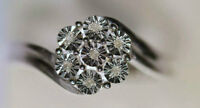 Sterling Silver Diamond Ring Appraised