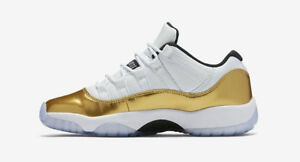 Air Jordan Retro XI 11 Low CLOSING CEREMONY Olympic Gold Size:9 Kitchener / Waterloo Kitchener Area image 2