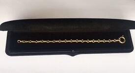 18ct gold Annabel Jones bracelet