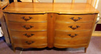 Matching pair of Gibbard French Provinciale' dressers
