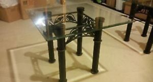 **New price** Glass coffee table and two matching end tables  Cambridge Kitchener Area image 1