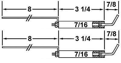 Crown 28037-02 Set Of Standard Electrodes For Old Style Wayne Blue Angel HS