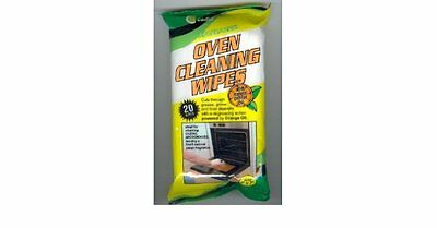 DEGREASING OVEN CLEANING WIPES with natural orange oil by CADIE 40 WIPES(2 Pack)