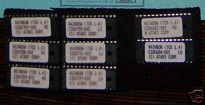 Rainbow TOS 1.4 Atari ST/STF/STFM & Mega ST New 2 Chip